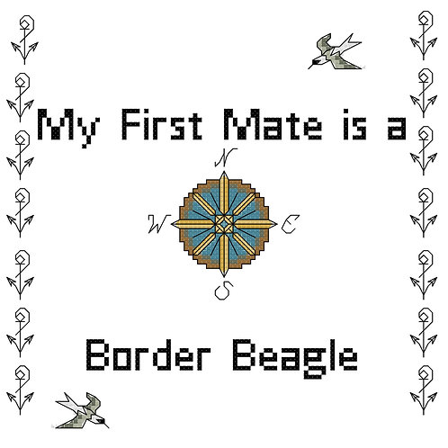Border Beagle, My First Mate is a