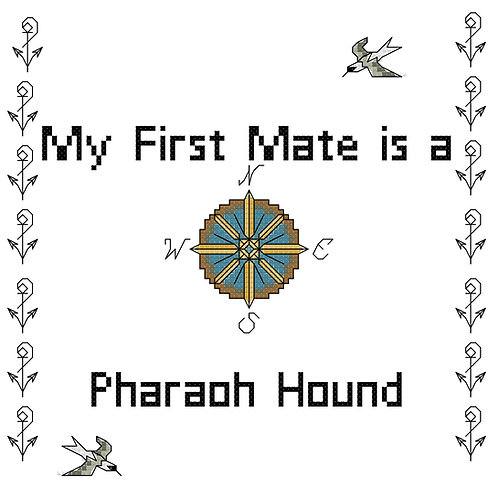 Pharaoh Hound, My First Mate is a