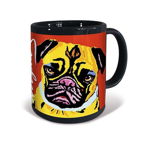 Pug Woofhol Mug