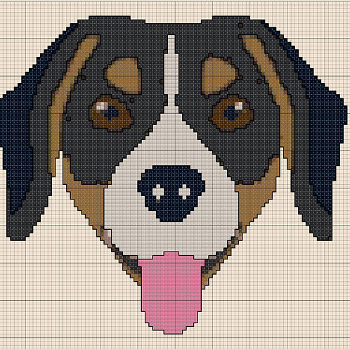 Beaglier/Keagle Portrait