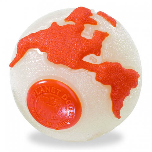 Orbee Tuff Planet Dog Ball with Treat Spot (small)
