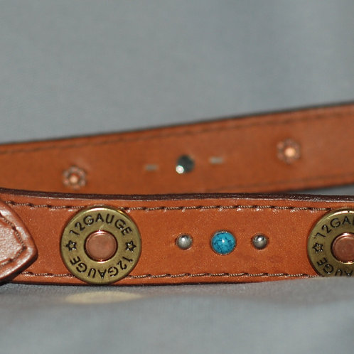 Ruff Puppies Leather Dog Collar for Extra Large Dogs