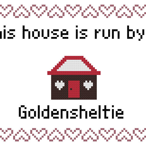 Golden Sheltie, This house is run by