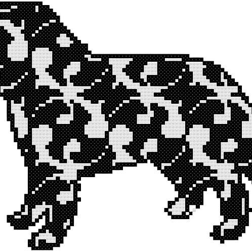 Karst Shepherd cross stitch