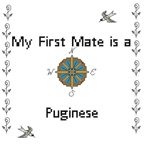 Puginese, My First Mate is a