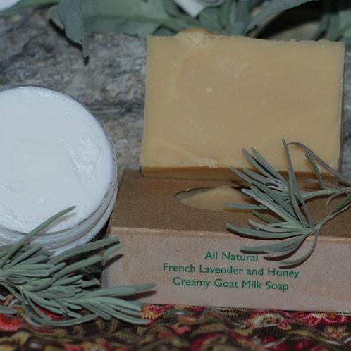 French Lavender and Honey Body Cream