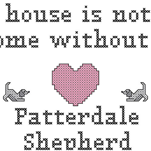 Patterdale Shepherd, A House is Not a Home Without
