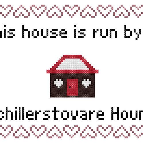 Schillerstövare Hound, This house is run by