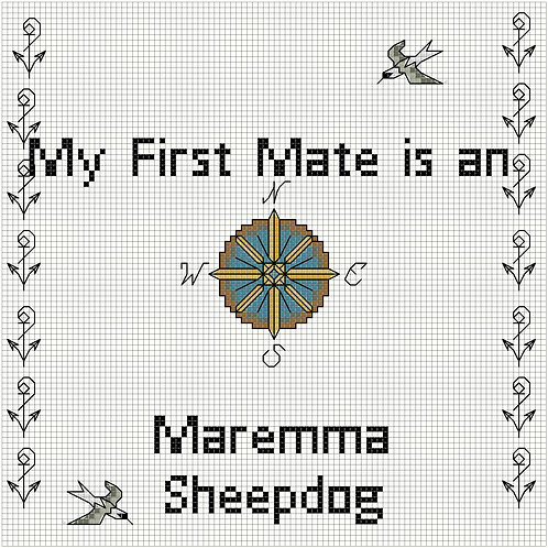 Maremma Sheepdog, My First Mate is a