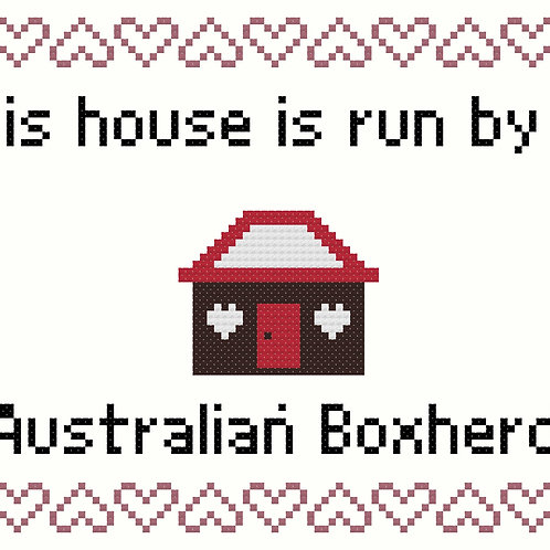 Australian Boxherd, This house is run by