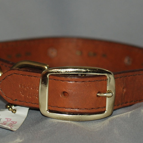 Ruff Puppies Leather Dog Collar for Large and Extra Large Dogs
