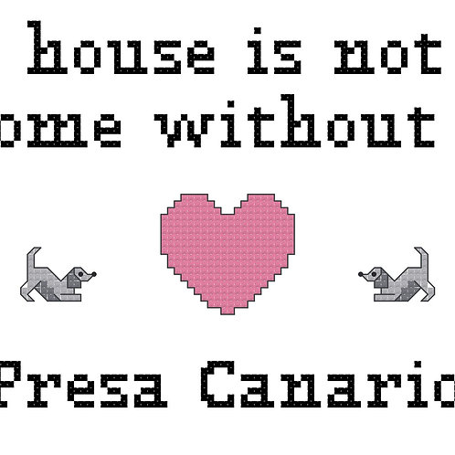 Presa Canario, A House is Not a Home Without