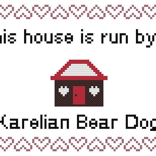 Karelian Bear Dog, This house is run by
