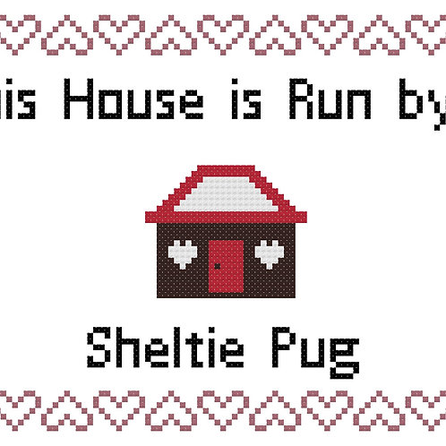 Sheltie Pug, This house is run by
