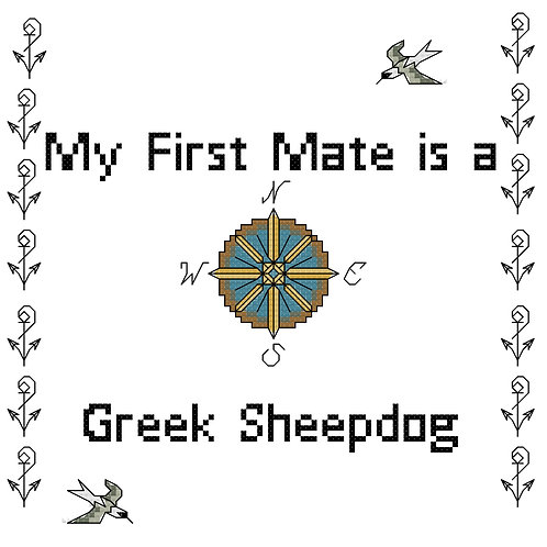 Greek Sheepdog, My First Mate is a