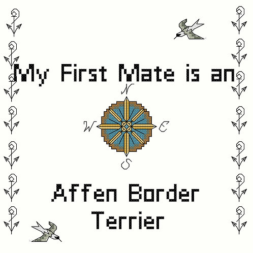 Affen Border Terrier, My First Mate is a