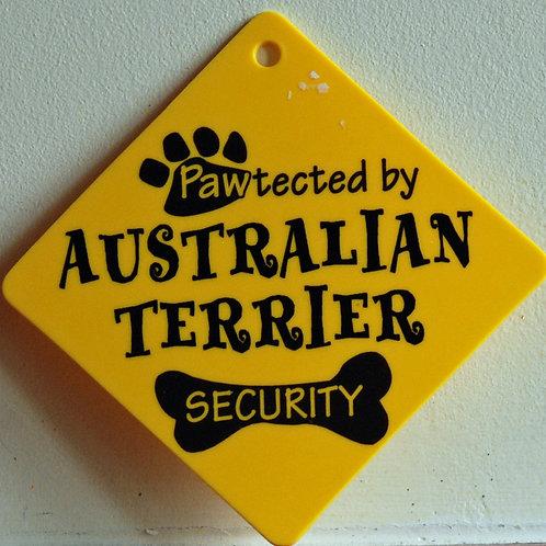 Australian Terrier, Pawtected by