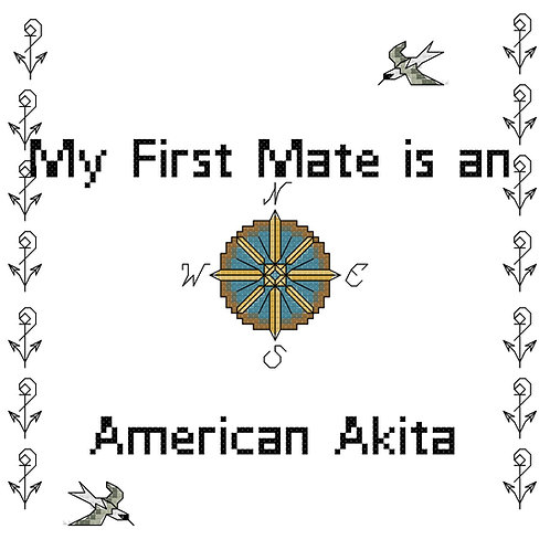 American Akita, My First Mate is a