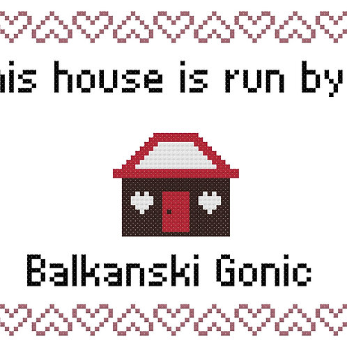 Balkanski Gonic, This house is run by