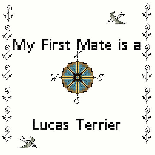 Lucas Terrier, My First Mate is a