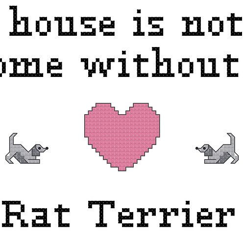 Rat Terrier, A House is Not a Home Without