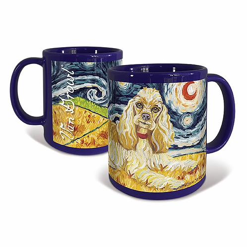 Cocker Spaniel, Starry Night Mug