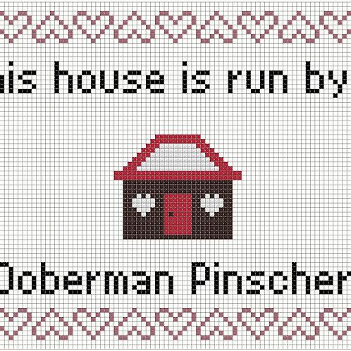 Doberman Pinscher, This house is run by