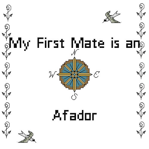 Afador, My First Mate is a
