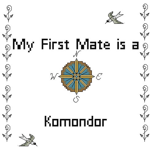 Komondor, My First Mate is a