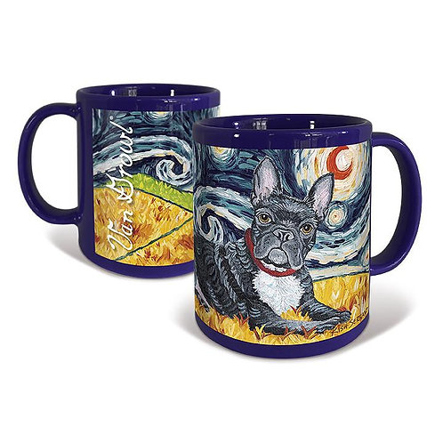 French Bulldog,  Starry Night Mug