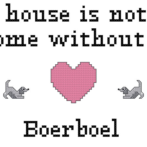 Boerboel, A House is Not a Home Without