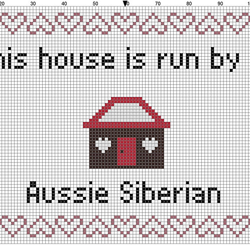 Aussie Siberian, This house is run by
