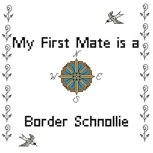 Border Schnollie, My First Mate is a