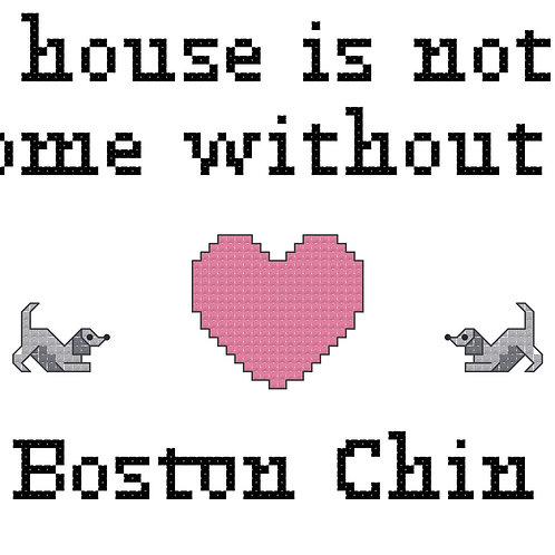 Boston Chin, A House is Not a Home Without