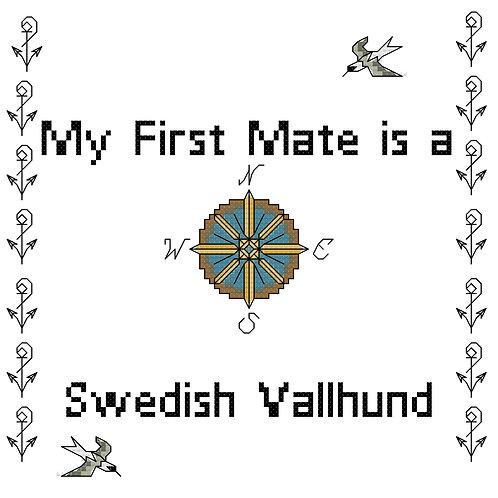 Swedish Vallhund, My First Mate is a