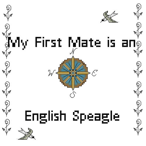 English Speagle, My First Mate is a