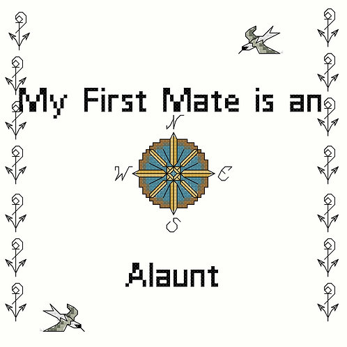 Alaunt, My First Mate is a