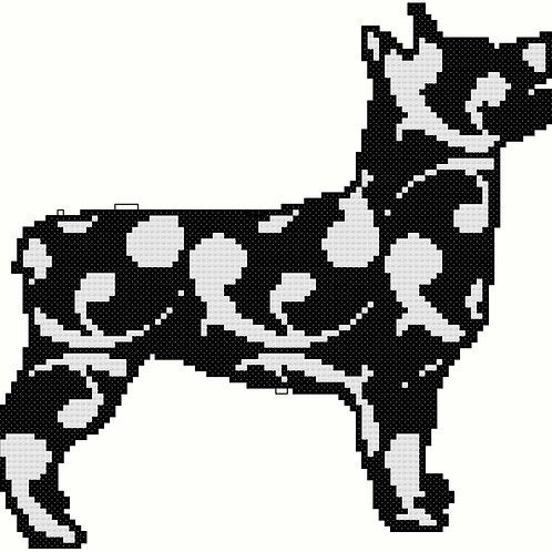 Swedish Vallhund Modern Black