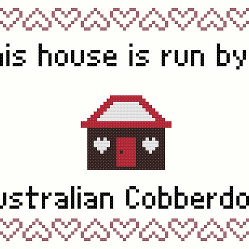 Australian Cobberdog, This house is run by