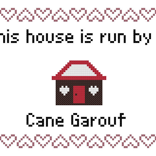 Cane Garouf, This house is run by