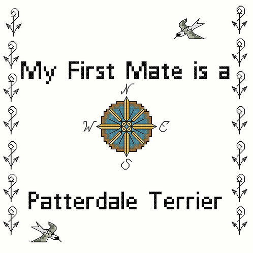 Patterdale Terrier, My First Mate is a