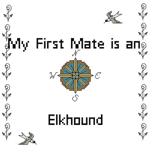 Elkhound, My First Mate is a