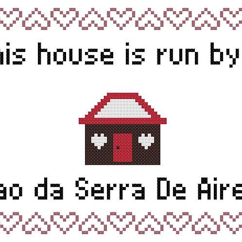 Cao da Serra De Aires, This house is run by