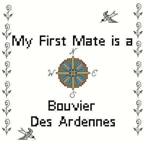 Bouvier De Ardennes, My First Mate is a