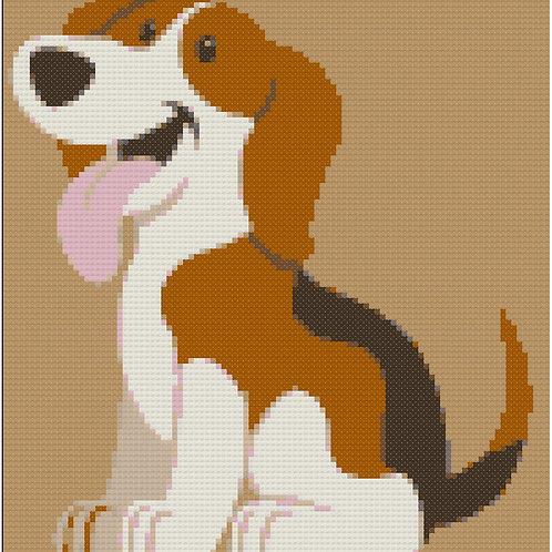 Beagle Smiling