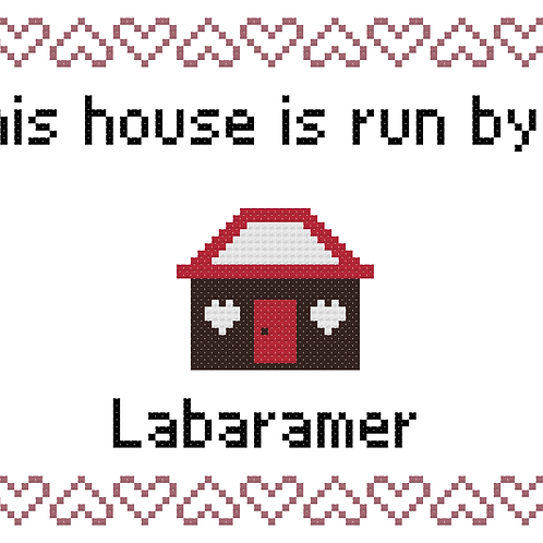 Labmaraner, This house is run by