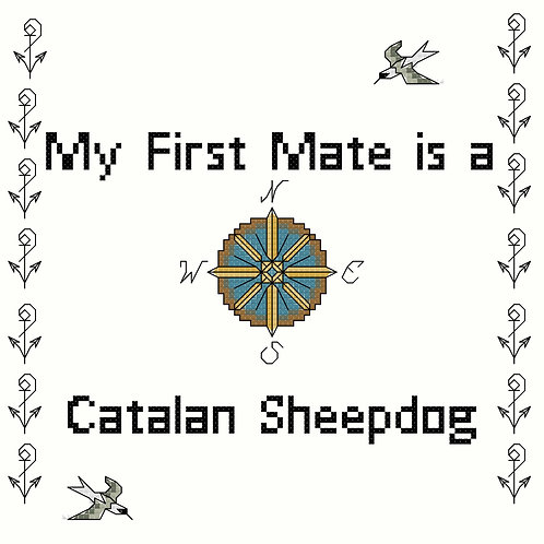 Catalan Sheepdog, My First Mate is a