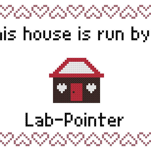 Lab-Pointer, This house is run by