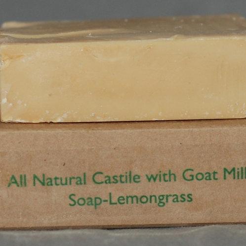 Castile Goat Milk Soap with Lemon Grass