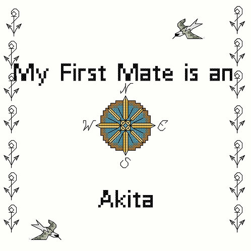 Akita, My First Mate is a